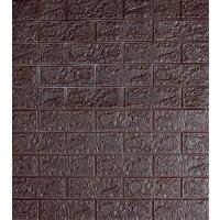 Tapet spuma, autocolant, model caramida 3D, D3312, 77 x 70 cm