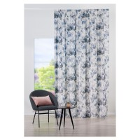 Draperie Mendola Fabrics, model Nirvana, Riviera, catifea, gri, semiopac, 280 cm