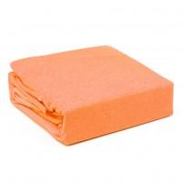 Husa saltea Home Still, bumbac frotir, orange, 160 x 200 cm, set 3 piese
