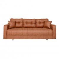 Canapea extensibila 3 locuri Ultra, cu lada, safran, 222 x 105 x 75 cm, 1C