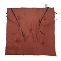 Perna scaun Atria, poliester, portocaliu, 38 x 37 cm