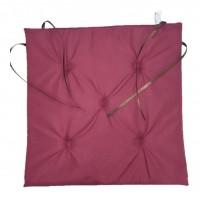 Perna scaun Atria, poliester, rosu, 38 x 37 cm