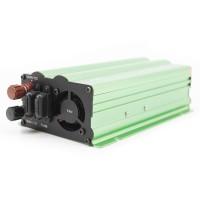 Invertor de tensiune PNI L600W, 1000 W, tensiune intrare 12 V / 24 V DC, tensiune iesire 230 V AC, USB 2.0 + 1 priza 230 V, clesti alimentare + mufa de bricheta, protectie scurtcircuit, protectie la suprasarcina