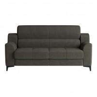 Canapea fixa 2 locuri Torino Rus, gri, 171 x 90 x 90 cm, 1C