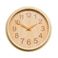 Ceas de perete D3272, analog, rotund, plastic, crem, 25 cm