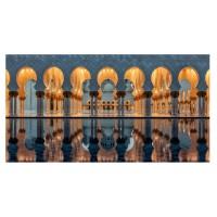 Tablou canvas Decor, orase CV09501, panza + sasiu, 50 x 100 cm