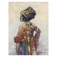Tablou canvas Decor, figurativ, panza + sasiu, 60 x 80 cm