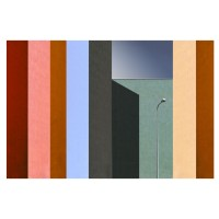 Tablou canvas Decor, abstract CV09776, panza + sasiu, 60 x 90 cm