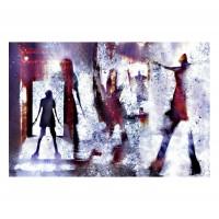 Tablou canvas Decor, abstract CV09560, panza + sasiu, 60 x 90 cm