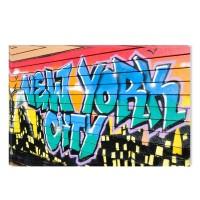 Tablou canvas dualview DTB7719, Startonight, Graffity, panza + sasiu lemn, 60 x 90 cm