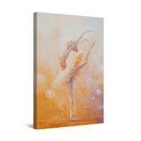 Tablou canvas dualview DTB8627, Startonight, Balerina, panza + sasiu lemn, 60 x 90 cm