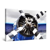 Tablou canvas dualview DTB8983, Startonight, Elice de avion, panza + sasiu lemn, 60 x 90 cm