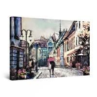 Tablou canvas dualview DTB9687, Startonight, Cuplu de indragostiti, panza + sasiu lemn, 60 x 90 cm