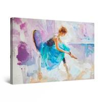 Tablou canvas dualview DTB10263, Startonight, Balet, panza + sasiu lemn, 90 x 60 cm