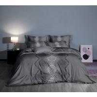 Lenjerie de pat Caressa 1 321, 2 persoane, microfibra, imprimeu, 4 piese