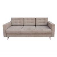 Canapea extensibila 3 locuri Belice, cu lada, crem, 225 x 105 x 90 cm, 4C