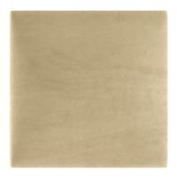 Panou decorativ tapitat Melange ME04, patrat, textil, bej, 30 x 30 cm, 37 mm