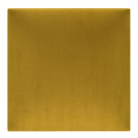 Panou decorativ tapitat Melange ME10, patrat, textil, galben, 30 x 30 cm, 37 mm