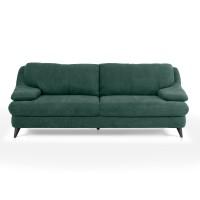 Canapea fixa 3 locuri Culture, verde, 220 x 100 x 87 cm, 1C