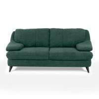 Canapea fixa 2 locuri Culture, verde, 185 x 100 x 87 cm, 1C