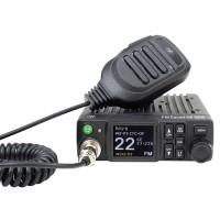 Statie radio auto CB PNI Escort HP 8900, 4 W, alimentare 12 V / 24 V, banda emisie AM / FM, ASQ reglabil, scanare canale, RF Gain, CTCSS-DCS, Dual Watch, ecran LCD, microfon cu 6 pini, S-metru, pornire automata