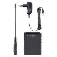 Kit acumulator PNI PB-HP62, Li-Ion 1500 mAh, alimentator 230 V, iesire 8.4 V, antena BNC, pentru statie radio auto CB PNI Escort HP 62