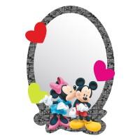 Sticker decorativ perete, camera copii, Mickey si Minnie, DM2108, 15 x 21.5 cm