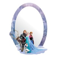 Sticker decorativ perete, camera copii, Frozen, DM2110, 15 x 21.5 cm