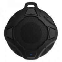 Boxa portabila activa Samus Explore Black, 5 W, Bluetooth, nivel de rezistenta IP67, radio FM, functie Handsfree, difuzor de 4.5 cm, neagra