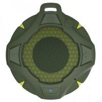 Boxa portabila activa Samus Explore Green, 5 W, Bluetooth, nivel de rezistenta IP67, radio FM, functie Handsfree, difuzor de 4.5 cm, verde