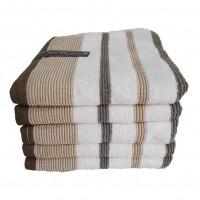 Prosop baie Twist, bumbac, alb, 50 x 90 cm