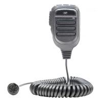 Microfon PNI MK9500 pentru statie radio auto CB PNI Escort HP 8000L / 8001L / 8024 / 9001 / 9001 Pro / 8900 / 9500, cu 6 pini, difuzor incorporat, buton activare / dezactivare ASQ, lungime cablu 60 cm, 60 x 30 x 110 mm, negru
