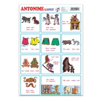 Planse didactice Arhi Design, carton, format A4, set 12 bucati