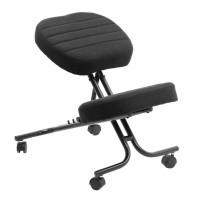 Scaun birou ergonomic OFF 093, reglabil, stofa, negru, 1C