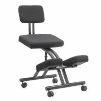 Scaun birou ergonomic OFF 094, reglabil, stofa, negru, 1C