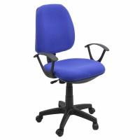 Scaun birou operational pentru copii OFF 326, rotativ, stofa, albastru, 1C