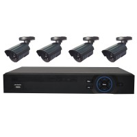 Kit PNI House IPMAX POE 720P - NVR IP ONVIF si 4 camere HD