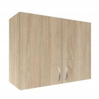 Dulap suspendat bucatarie, stejar sonoma, 80 x 30 x 60 cm, 1C