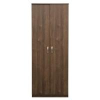 Dulap birou Rubin, 2 usi + 5 rafturi, stejar bronz, 75 x 40 x 187 cm, 1C