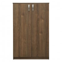 Dulap birou Rubin, 2 usi + 3 rafturi, stejar bronz, 75 x 40 x 117 cm, 1C