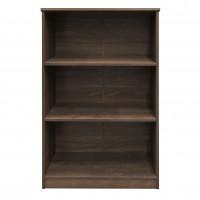 Etajera birou Rubin, 3 rafturi, stejar bronz, 75 x 40 x 117 cm, 1C