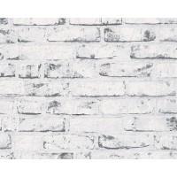 Tapet vlies, model caramida, AS Creation Best of Wood'n Stone 907837, 10 x 0.53 m