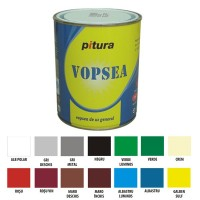 Vopsea alchidica pentru lemn / metal, Pitura, interior / exterior, albastra V53620-B, 20 L
