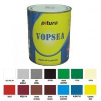 Vopsea alchidica pentru lemn / metal, Pitura, interior / exterior, galben sulf V53440-B, 25 kg