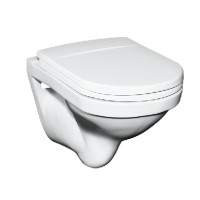 Vas WC suspendat Mondial Logic 5693 80 01, alb, cu evacuare orizontala