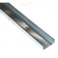 Profil gips carton din tabla zincata CW 100 x 37 x 4000 mm