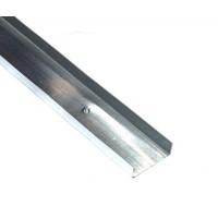 Profil gips carton din tabla zincata UW 100 x 30 x 4000 mm