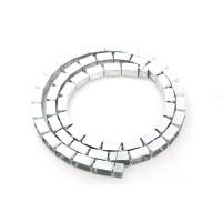 Profil metalic Rigips Vertebra GV, placi gips carton speciale, pentru suprafete curbe, 30 x 3000 x 0.6 mm