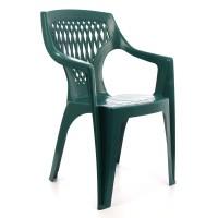 Scaun pentru gradina, Adrian, plastic, verde