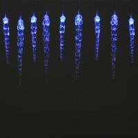 Instalatie turturi Craciun, Hoff, 30 LED-uri albastre, 8.7 m, interior / exterior